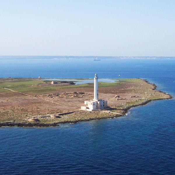 isola di sant'andrea gallipoli