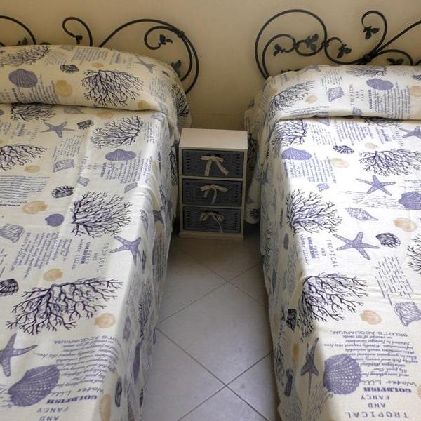 camera doppia appartamento mare rivabella gallipoli